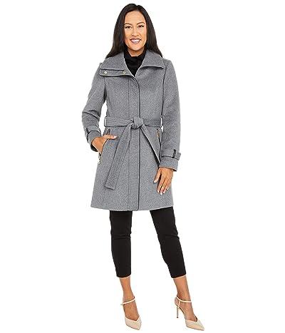 Vince Camuto Belted Wool Coat V20734-ZA (Medium Grey) Women