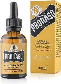 Proraso - Aceite De Barba, Madera Y Especias, Alisar y