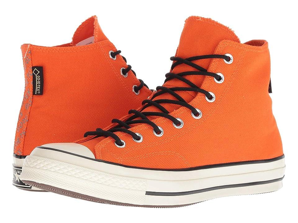 Converse Chuck 70 GORE-TEX Hi (Bold Madarine/Egret/Brown) Lace up casual Shoes