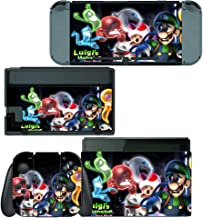 Decals Plus Skin Cover Sticker Wrap for Nintendo Switch Console Joy-Con and Dock