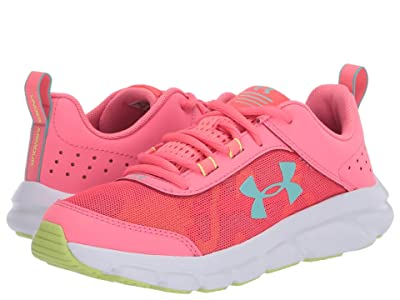 Under Armour Kids UA Assert 8 (Big Kid) (Eclectic Pink/White/Radial/Turquoise) Girls Shoes