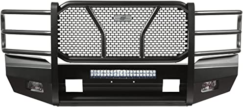 Steelcraft 60-11370 Custom Fit 2011-2016 Ford Super Duty Heavy Duty Elevation Front Replacement Bumper, Black