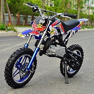 Pevolgen Mini Dirt Bike, Child Locomotive 49Cc Mini Kinderbaseline, Benzine-Aangedreven 2-Takt 49Cc Motorfiets