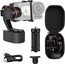 Hohem XG1 Classic 3-Axis Wearable Gimbal Stabilizer for gopro Hero 7/6/5/4/3 for DJI Osmo Action for Action Cameras Stabilizer for Motorcycle or Biking(Wearable gimble)