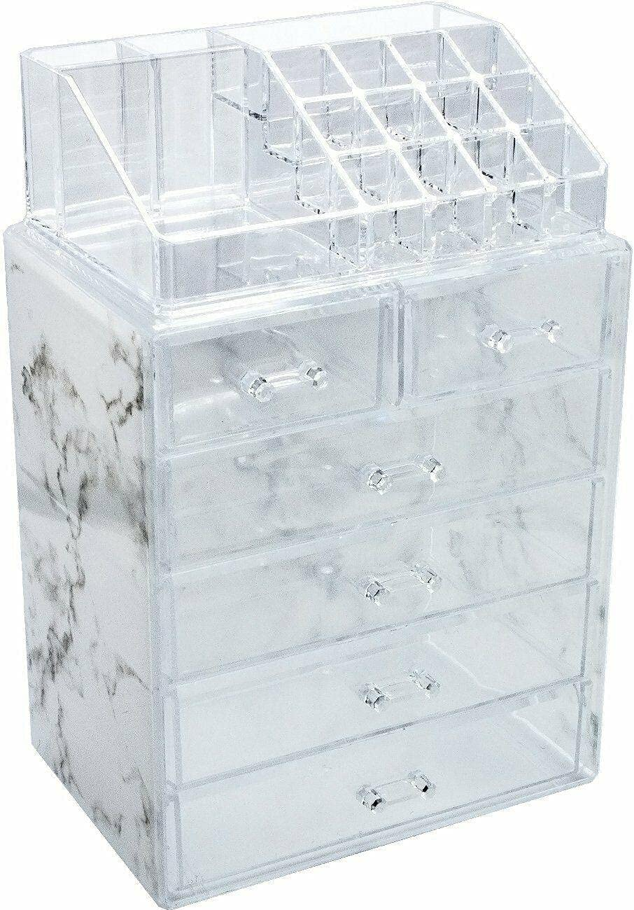 Cosmetic Makeup and Jewelry Louisville-Jefferson County Mall Bombing free shipping Storage Marble Display Ho Case Print