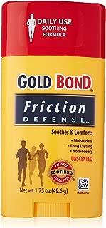 Gold Bond Friction Defense Unscented 1.75 Oz (3 Pack)