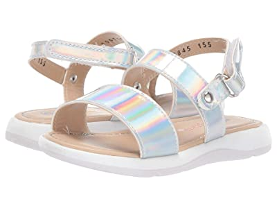 Kid Express Giselle (Toddler) (Silver Combo) Girls Shoes