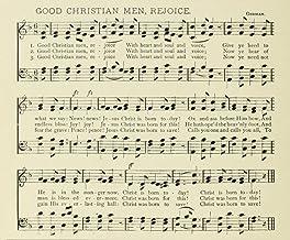 Posterazzi Good Christian Men Rejoice John Mason Neale (1818-1866) Christmas in Song 1891 Poster Print, (24 x 36)