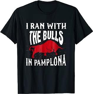 San Fermin Festival Scarf Gift Shirt Running Of The Bulls