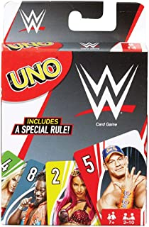 Mattel Games UNO WWE Card Game