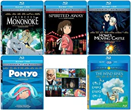The Continued Success Blu-ray Collection: Written & Directed by Hayao Miyazaki (Princess Mononoke / Spirited Away / Howl's...
