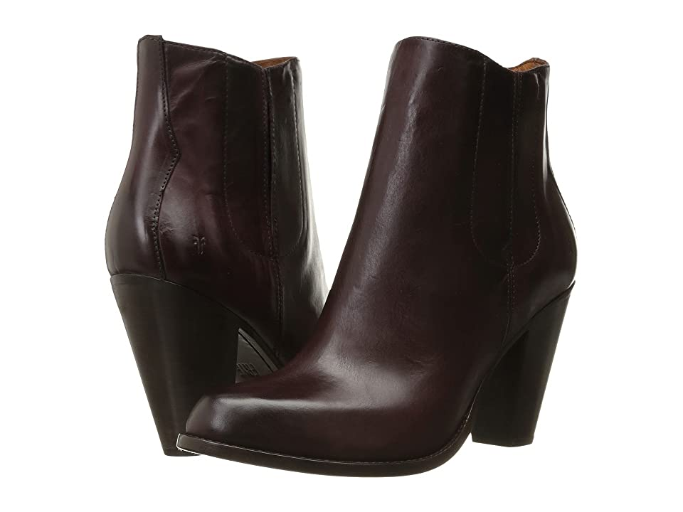 Frye Jenny Jet Chelsea (Bordeaux Smooth Veg Calf) Women