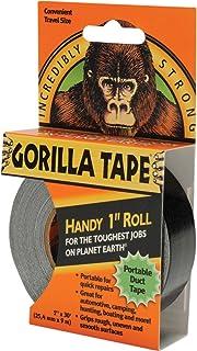 Gorilla Tape Handy Roll (25mm x 9.1m), Zwart, One Size