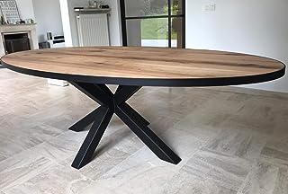 KOLOSALE CIC Table en chêne ovale