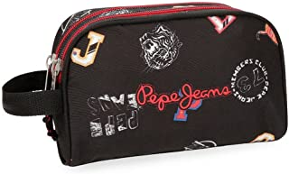 Neceser Pepe Jeans Jill doble compartimento adaptable a trolley