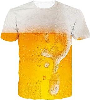ALISISTER Unisex Maglietta da Stampare 3D T Shirt Uomo Divertenti Estate Casual Manica Corta Tee Tops S-3XL