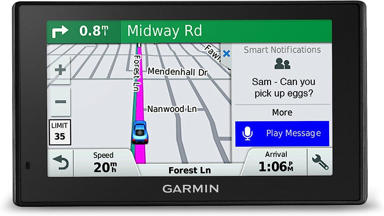 Garmin DriveSmart 51 NA LMT-S with Lifetime Maps/Traffic, Live Parking, Bluetooth,WiFi, Smart Notifications, Voice Activation, Driver Alerts, TripAdvisor, Foursquare