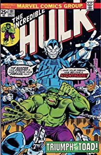 Incredible Hulk, The #191 VG ; Marvel comic book