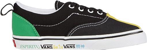 (Vans Spirit) Multi/True White