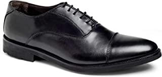 Anthony Veer Musk Men's Oxford Lace-up Dress Shoes Lightweight Comfort Office Italian Leather