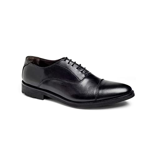 Anthony Veer Musk Mens Oxford Lace-up Dress Shoes Lightweight Comfort Office Italian Leather