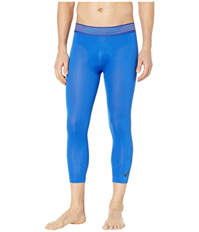 Nike Pro Breath Tights 3/4 (Game Royal/Game Royal/Black) Men