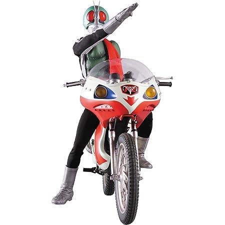 RAH リアルアクションヒーローズ DX 仮面ライダー新1号 Ver.2.5 & 新サイクロン号 1/6スケール ABS&ATBC-PVC製 塗装済み可動フィギュア