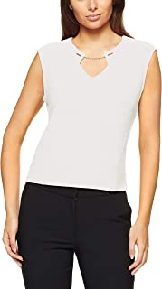 Calvin Klein Women's Short Sleeve Knit Top