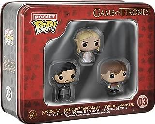 Funko Game of Thrones Pocket Pop! Mini Vinyl Figure Tin (3-Pack)