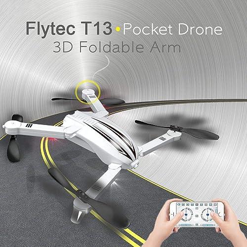 bajo precio del 40% JIUZHOU Best Online Tienda de Juguetes Juguetes Juguetes Flytec T13 3D Diseño Plegable Brazo Bolsillos UAV WiFi FPV Figura 720p  mejor vendido