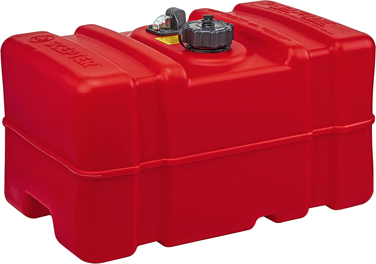 Challenge the lowest price of Japan Scepter Cheap mail order specialty store 12 Gallon Marine Fuel Tank 08668 Red