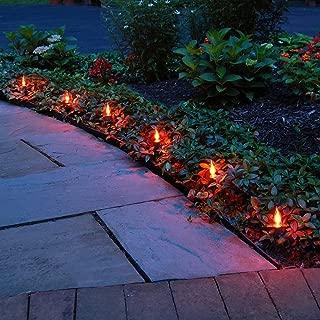 Lumabase 61310 Orange Flicker Electric Pathway Lights