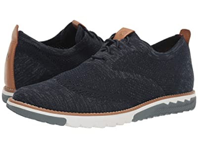 Hush Puppies Expert Wing Tip Knit (Navy Multi Knit) Men