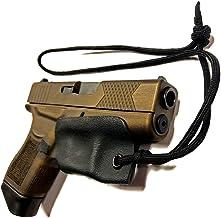 Skydas Gear Glock 43X, 43 42 48 Kydex Trigger Guard Holster Pistol Lanyard Rip-Away..