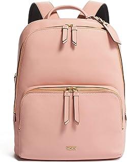 TUMI - Varek Hudson Leather Laptop Backpack - 14 Inch Computer Bag for Men and Women - Blush