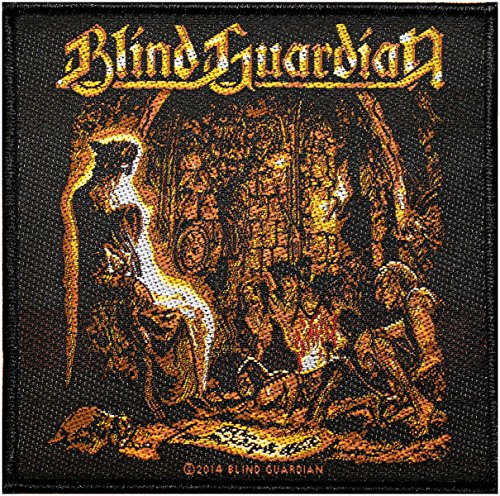BLIND GUARDIAN Aufnäher TALES OF THE TWILIGHT Patch gewebt 10 x 10 cm