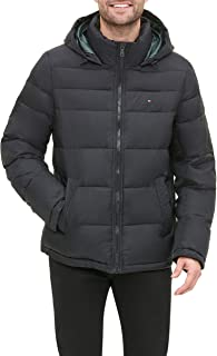 mens Classic Hooded Puffer Jacket (Standard and Big & Tall)