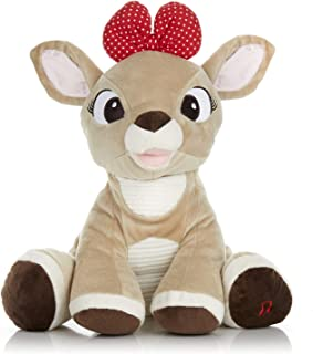 Rudolph the Red-Nosed Reindeer Light Up Musical Clarice Stuffed Toy