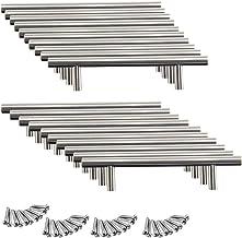20 x 96mm roestvrij stalen handgrepen stanggreep railinggreep boorgatabst meubelgrepen geborsteld staal roestvrijstalen bu...