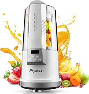 PRYMAX Vacuum Blender, Professional Countertop Blender Ice Crusher, 25000RMP High Speed Kitchen Smoothie Maker Coffee Grin...