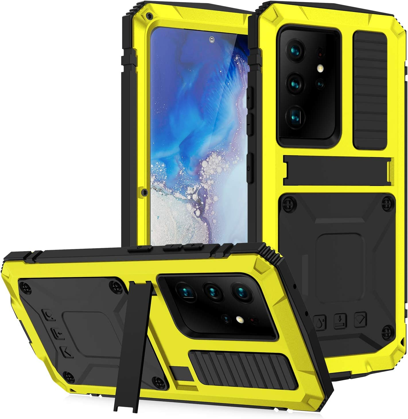 Compatible with Samsung Galaxy S21 Full-Body Metal S Nashville-Davidson Mall Fort Worth Mall Rugged Case