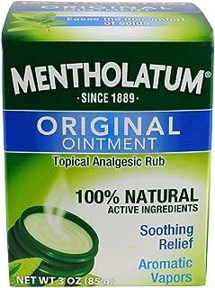 Best mentholatum ointment uses Reviews