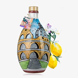 'ROMA MEMORITALY' - Hand-painted Jar - Limoncello Sorrento (Made in Italy)