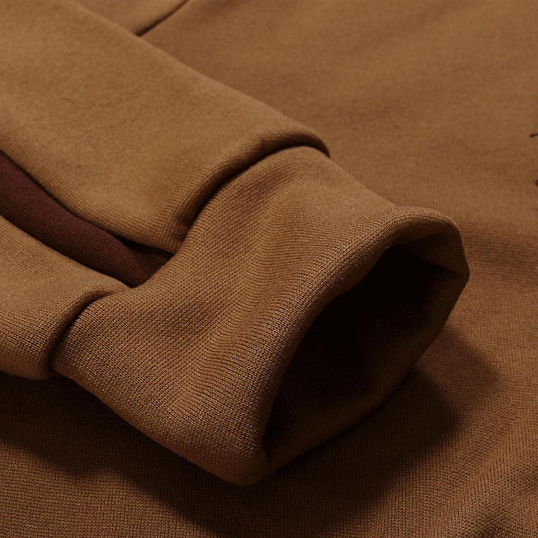 LEIYAN Mens Hooded Pullover Casual Long Sleeve Slim Fit Draped Ruffle Hipster Sport Sweatshirt Hoodie Jackets