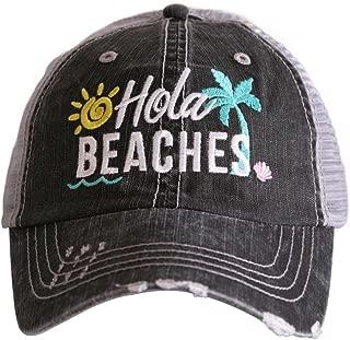 Hola Beaches Women's Trucker Hats Caps