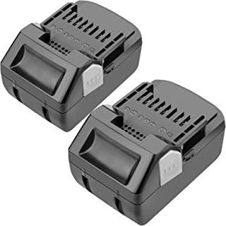 [2 Pack] 3.0Ah 18V Replacement Battery Compatible with Hitachi BSL1815X BSL1830C BSL1815S BSL1830 339782 330139 330557 Lithium-Ion Slide Style Battery