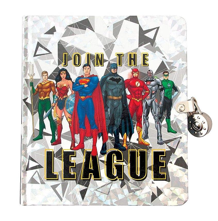 補足原告リビングルームPlayhouse DC Comics Join The Justice League Lock and Key Lined Page Diary for Kids