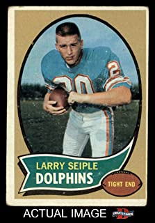 1970 Topps # 94 Larry Seiple Miami Dolphins (Football Card) Dean's Cards 2 - GOOD Dolphins