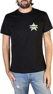 Versace Jeans Mens Cotton Graphic Graphic T-Shirt