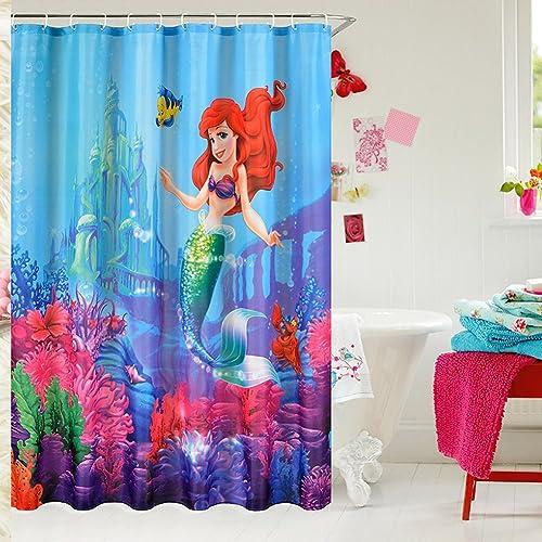 Little Mermaid Bathroom Decor Amazon Com